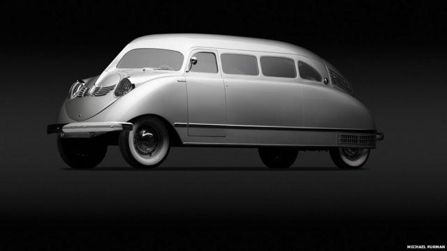 William B Stout ရဲ့ ၁၉၃၆ မော်ဒယ် Stout Scarab ဒီဇိုင်း။ Stout Scarab, 1936