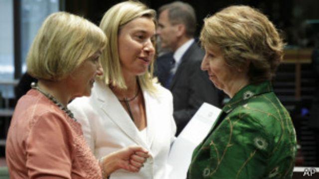 Расширение санкций было согласовано на министерской встрече во вторник
