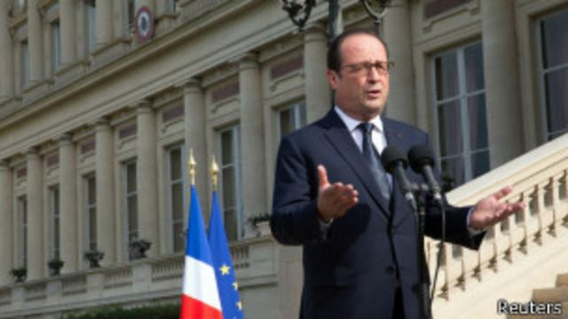 Perezida Francois Hollande yavuze ko nta bitero Ubufaransa buzagaba muri Syria