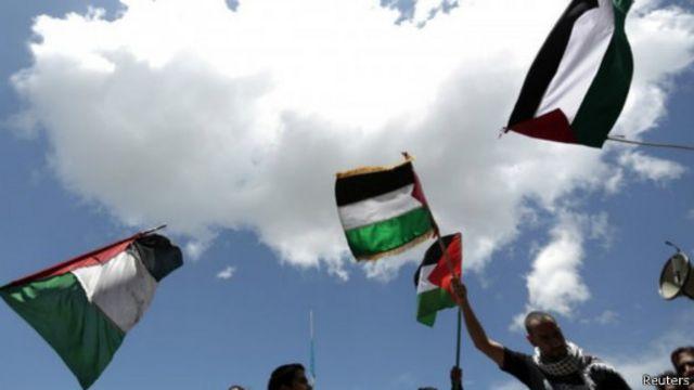 مؤيدو الفلسطينيين تظاهروا في عدة مدن حول العالم، ومنها غواتيمالا.