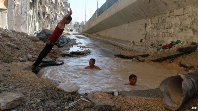 غزہ میں چھ سال اور اس سے زیادہ عمر کے بچے تین اور اس سے زیادہ جنگوں کا تجربہ رکھتے ہیں