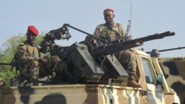 Des soldats de l'armée Camerounaise