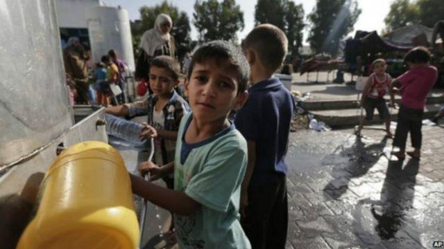 المدرسة التي قصفتها إسرائيل بحسب الأمم المتحدة كانت تضم نازحين فلسطينيين.