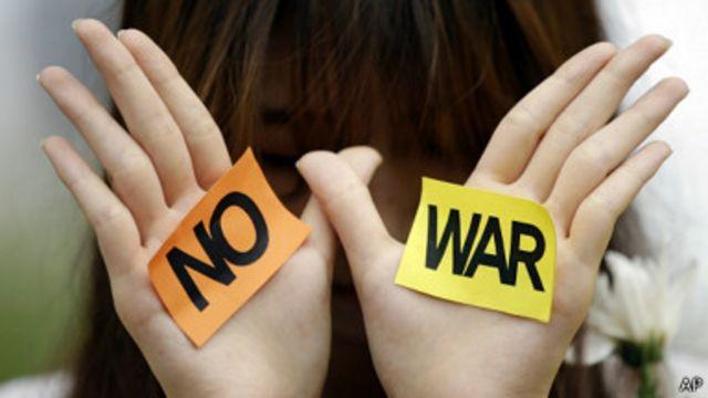 """""""No a la guerra"""""""