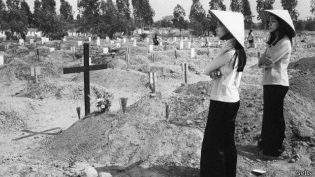 Chiến tranh đã tàn phá miền Nam Việt Nam