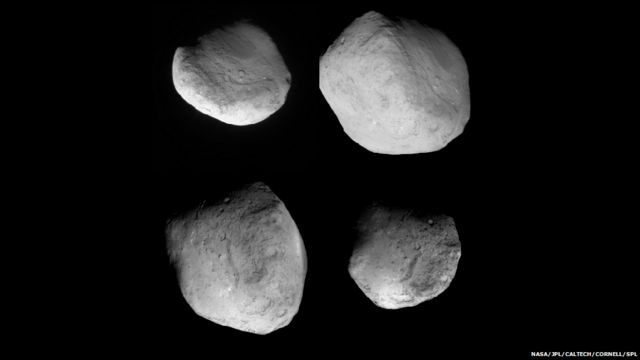 ၂၀၁၂ မှာ နောက်တကျော့ ပြန်လာတဲ့ 9P/Tempel ကြယ်တံခွန်ရဲ့ ပုံရိပ်တွေ။ ပြန်လည် မွမ်းမံထားတဲ့ Stardust ယာဉ်ကနေ ရိုက်ယူခဲ့။ ဒီကြယ်တံခွန်မှာ ရေရှိတဲ့ အထောက်အထားကို တွေ့ရှိခဲ့။