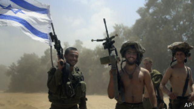 Tropas israelenses (foto: AP)