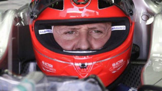 Michael Schumacher yakomeretse mumutwe mu mpera z'umwaka uheze
