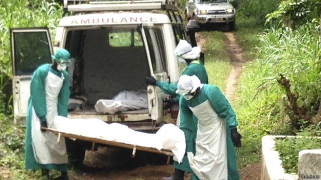 En África Occidental no han podido usar el medicamento experimental producido en EE.UU.