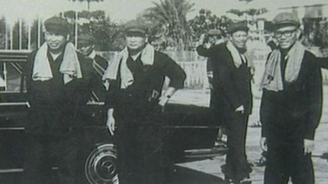 Các lãnh đạo Khmer Đỏ