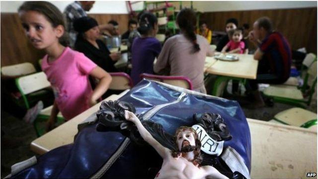 當地大多數伊拉克基督教徒已逃離家園