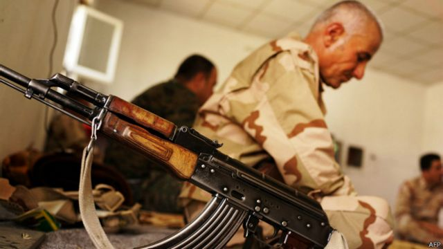 Soldado de la Peshmerga