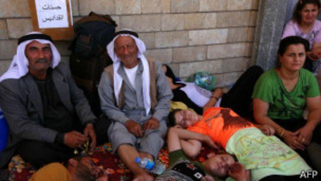 Crisitianos en Irak