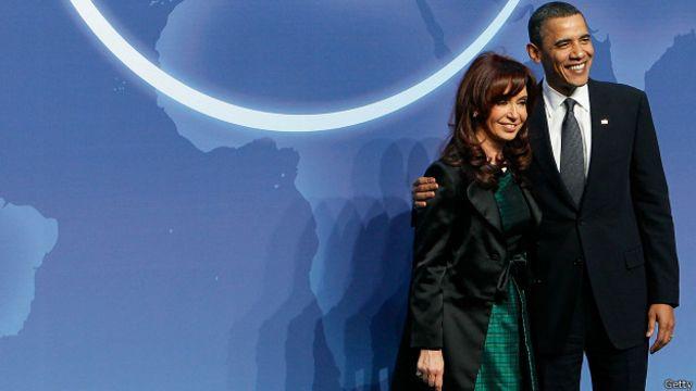 Fernández y Obama