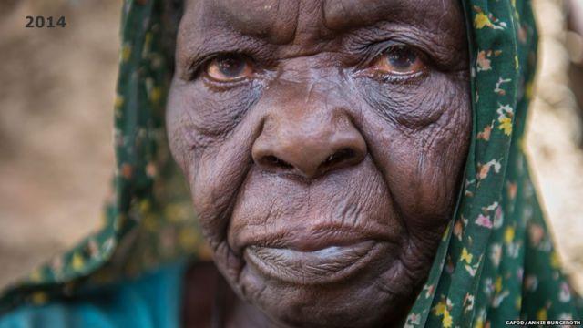Hamisa a sansanin Hassa Hissa na Darfur, Sudan - 2007