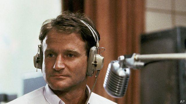 """Robin Williams en """"Good Morning Vietnam"""""""