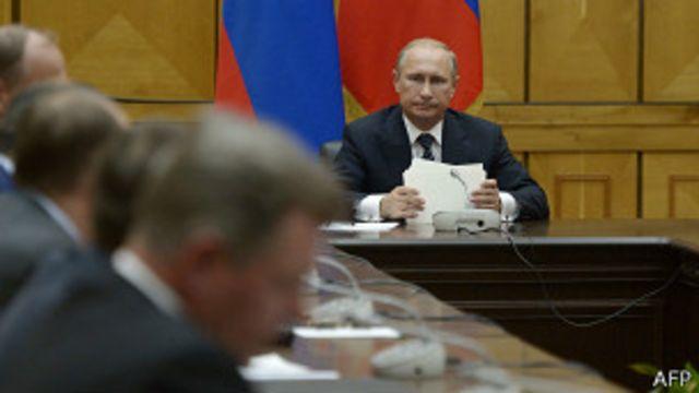 Путин проводит Совет безопасности