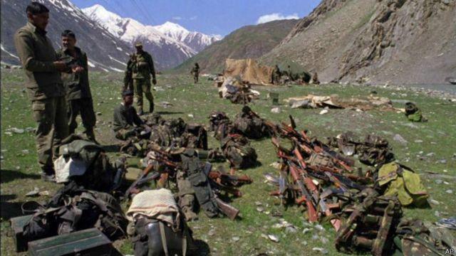 कारगिल में भारतीय सैनिक
