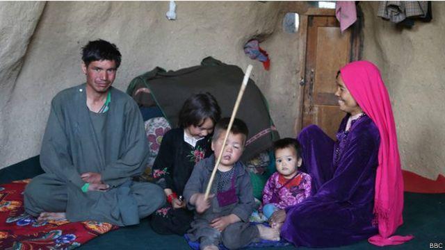 پانچ افراد پر مشتمل رمضان کے خاندان کے پاس گھر کے کرائے کا پیسہ نہیں
