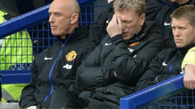 David Moyes, yatwaye Manchester United