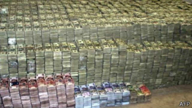 Dinero de contrabando