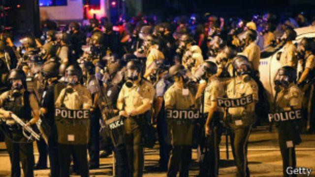 policía en Misuri