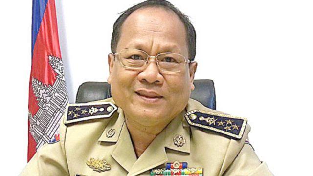 Trung tướng Khieu Sopheak là phát ngôn viên của Bộ Nội vụ Campuchia