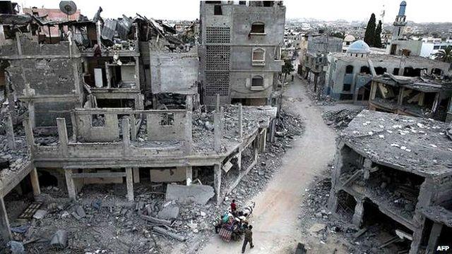 اسرائیلی حملوں کے آغاز سے اب تک 2016 فلسطینی اور 66 اسرائیلی ہلاک ہو چکے ہیں
