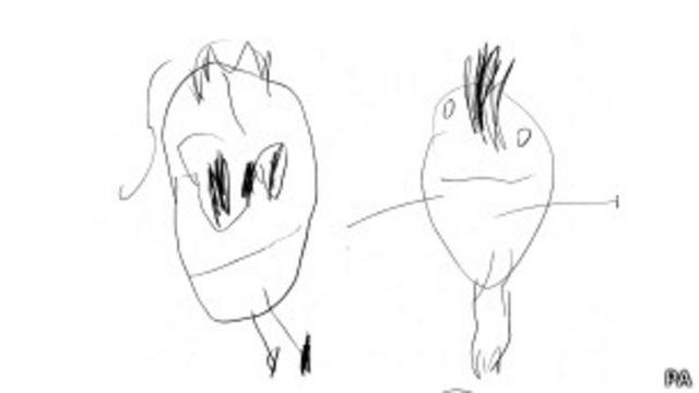Рисунки близнецов, у которых одиниковый генотип, зачастую схожи по уровню исполнения.