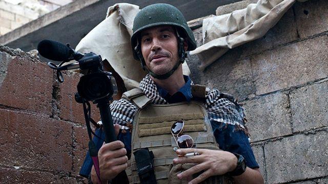 James Foley en 2012