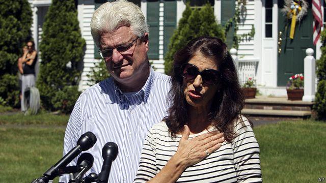 Padres de James Foley