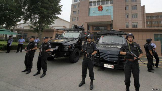 據中國媒體報道中國國內的所謂警用設備市場存在混亂。