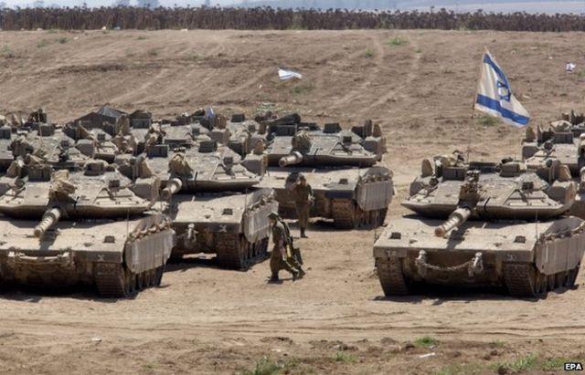 غزہ پر حملے میں اسرائیل نے ہر قسم کے بھاری ہتھیاروں کا استعمال کیا تھا