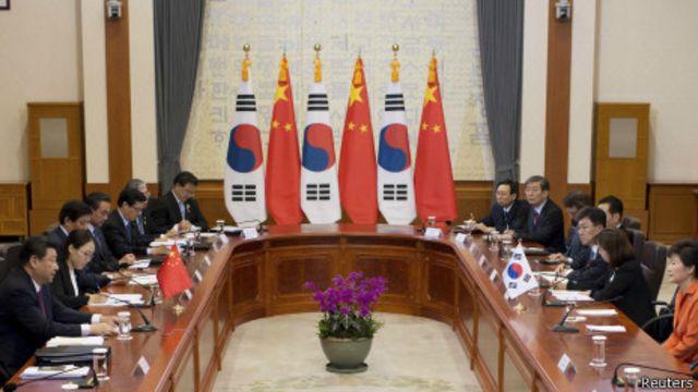 Corea del Sur desplazó a Japón del cuarto lugar entre los principales inversionistas en China.