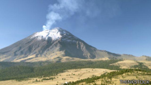 Volcán de México.