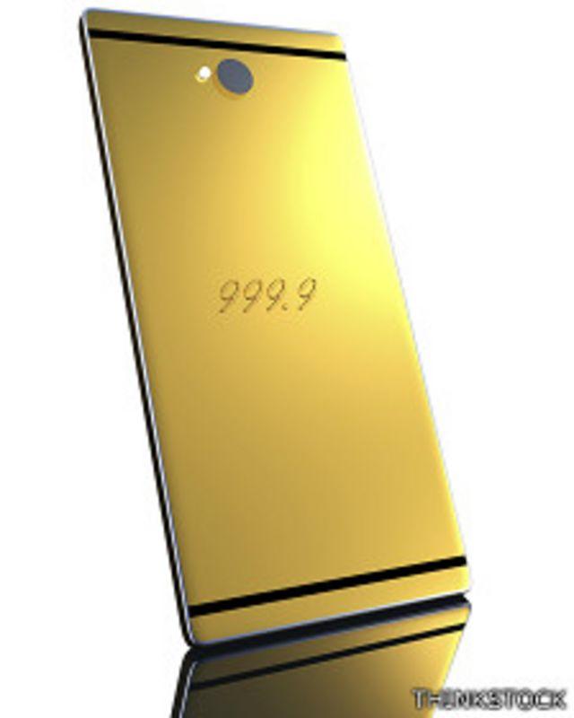 Celular de oro