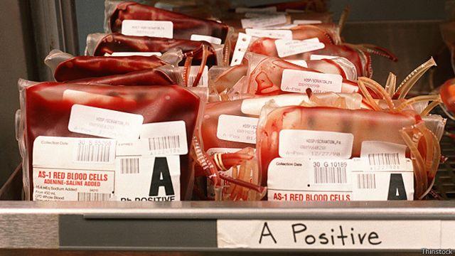 Bolsas de sangre