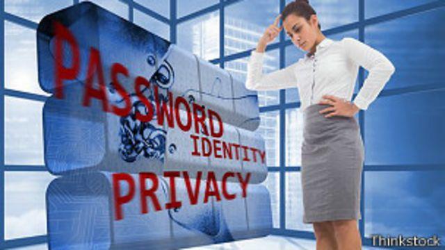 Ilustracion sobre seguridad en internet
