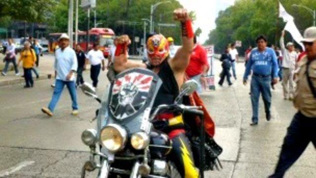Superluz SME, héroe de los trabajadores electricistas de México. Foto: página Facebook de Superluz SME
