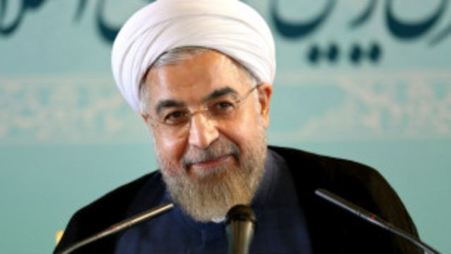 """أكد روحاني استعداد بلاده للتعاون ضد """"الدولة الاسلامية"""" مقابل تنازلات في البرنامج النووي"""