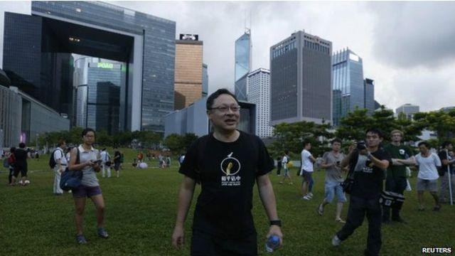 香港佔中抗議的發起人戴耀廷認為北京限制議普選的規定是「一國兩制」的終結