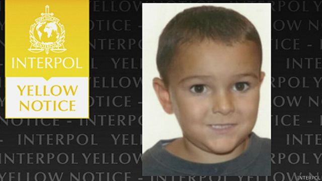 Alerta de Interpol sobre Ashya King