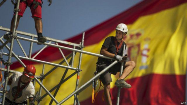 Trabajadores españoles