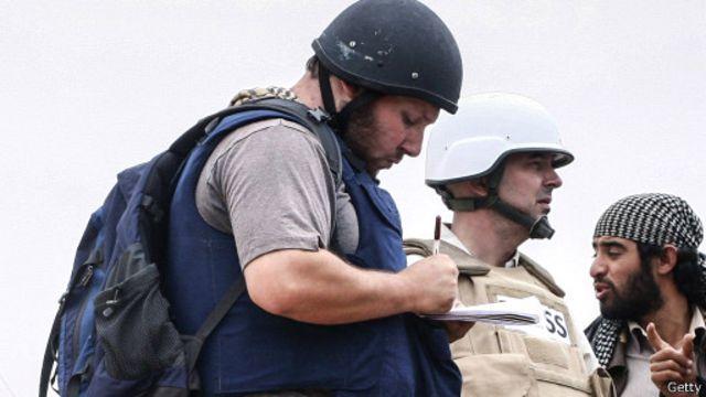 اختطف سوتلوف العام الماضي في سوريا.