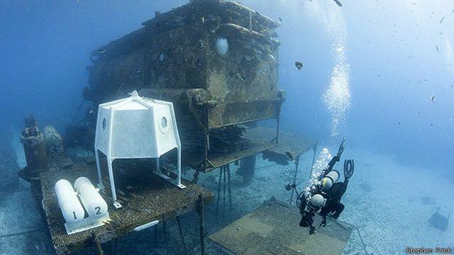 Laboratorio submarino Aquarius