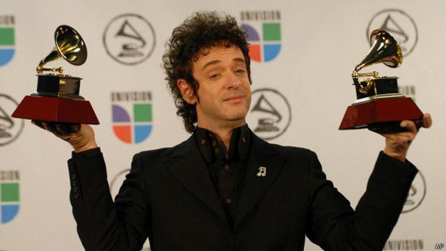 Gustavo Cerati, recibi premios Grammys Latinos