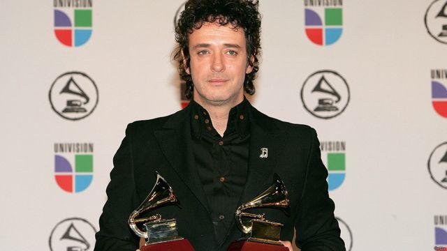 Gustavo Cerati en los Latin Grammy