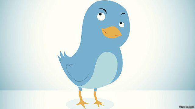 Pájaro que identifica a Twitter.