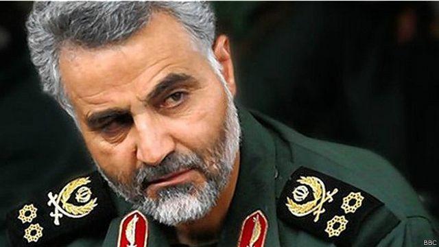 قاسم سلیمانی از فرماندهان ارشد سپاه در جنگ ایران و عراق بود