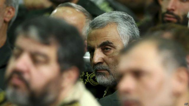 خبرگزاری های ایران می گویند گفت و گو با فرمانده نیروی قدس سپاه در دفترش کارش در تهران انجام شده است